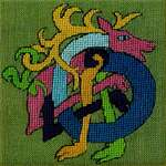 Click for more details of Cerf Celtique   (Celtic Knot Deer) (cross stitch) by Nimue Fee Main