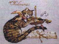Click for more details of Chadivarius (cross stitch) by Nimue Fee Main