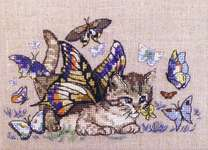 Click for more details of Chapillon (cross stitch) by Nimue Fee Main