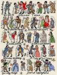 Click for more details of Charles Dickens (cross stitch) by Bothy Threads