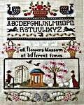 Click for more details of Cherry Garden (cross stitch) by Twin Peak Primitives