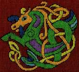 Click for more details of Cheval Celtique   (Celtic Knot Horse) (cross stitch) by Nimue Fee Main