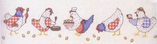 Click for more details of Chick Chicken (cross stitch) by Anchor