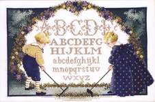 Click for more details of Childrens Garden (cross stitch) by Butternut Road