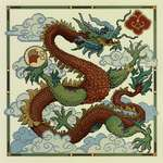Click for more details of Chinese Dragon (cross stitch) by Lesley Teare