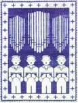 Click for more details of Choirboys (cross stitch) by Haandarbejdets Fremme
