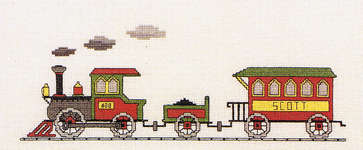 Click for more details of Choo - Choo All Aboard (cross-stitch pattern) by The Family Tree