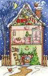 Click for more details of Christmas at Home (cross stitch) by DMC Creative