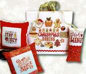 Click for more details of Christmas Baking Motifs (cross stitch) by Tiny Modernist