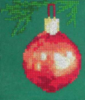 Click for more details of Christmas Bauble (cross-stitch pattern) by Anne Peden