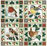 Click for more details of Christmas Bird Cards (cross stitch) by Lesley Teare
