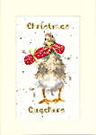 Click for more details of Christmas Card - Christmas Quakers (cross stitch) by Bothy Threads