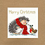 Click for more details of Christmas Card - Christmas Wishes (cross stitch) by Bothy Threads