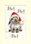 Click for more details of Christmas Card - Ho Ho Ho! (cross stitch) by Bothy Threads