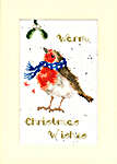 Click for more details of Christmas Card - Warm Wishes (cross stitch) by Bothy Threads