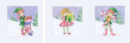 Click for more details of Christmas Cards (cross stitch) by Maria Diaz