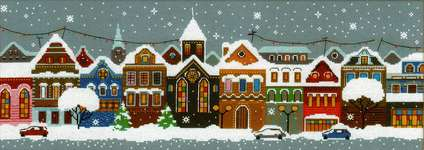 Click for more details of Christmas City (cross stitch) by Riolis