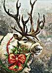 Click for more details of Christmas Deer (cross stitch) by Luca - S