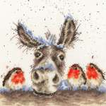 Click for more details of Christmas Donkey (cross stitch) by Bothy Threads