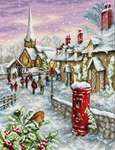 Click for more details of Christmas Eve (cross stitch) by Luca - S