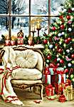 Click for more details of Christmas Interior Design (tapestry) by Luca - S