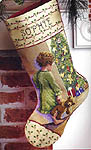 Click for more details of Christmas Morning Stocking (cross stitch) by Janlynn