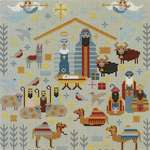 Click for more details of Christmas Nativity (cross stitch) by Riverdrift House