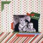 "Click for more details of Christmas Page Kit 12""x12"" (paper craft kits and album kits) by Colorbok"