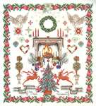 Click for more details of Christmas Sampler (cross stitch) by Thea Gouverneur