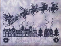 Click for more details of Christmas Silhouettes (cross stitch) by Stoney Creek