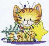 Click for more details of Christmas Tangle (cross-stitch kit) by Peter Underhill
