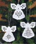 Christmas Tree Hardanger Angels