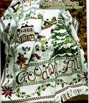 Click for more details of Christmas Village Afghan (cross stitch) by Stoney Creek