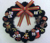 Click for more details of Christmas Wreaths (quilling) by Lake City Craft Co