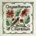 Click for more details of Chrysanthemum (cross stitch) by The Drawn Thread