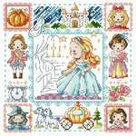 Click for more details of Cinderella (cross stitch) by Soda Stitch