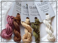 Click for more details of Classic Colorworks Belle Soie Hand Dyed Silk Floss (thread and floss) by Classic Colorworks
