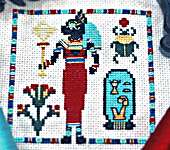Click for more details of Cleocatra (cross stitch) by bendystitchy