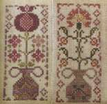 Click for more details of Climbing the Trellis (cross stitch) by Blackbird Designs