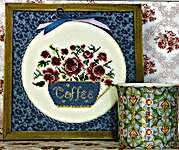 Click for more details of Coffee! (cross stitch) by Rosewood Manor