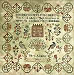 Click for more details of Come into my Garden (cross stitch) by Blackbird Designs