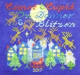 Click for more details of Comet and Cupid (cross stitch) by Tempting Tangles Designs