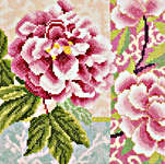 Click for more details of Composition of Rose Flowers (cross stitch) by Lanarte