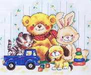 Click for more details of Constant Friends (cross stitch) by RTO