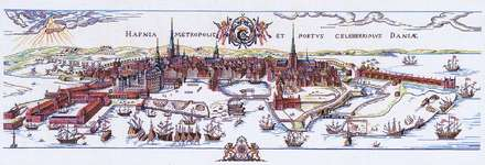 Click for more details of Copenhagen (cross stitch) by Eva Rosenstand