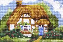 Click for more details of Cottage (tapestry) by Anchor