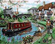 Click for more details of Country Canal (cross stitch) by Anchor