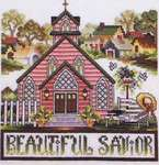 Click for more details of Country Churches (cross stitch) by Stoney Creek