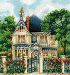 Click for more details of Country House (cross stitch) by Andriana