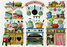 Click for more details of Country Kitchen (cross stitch) by Soda Stitch